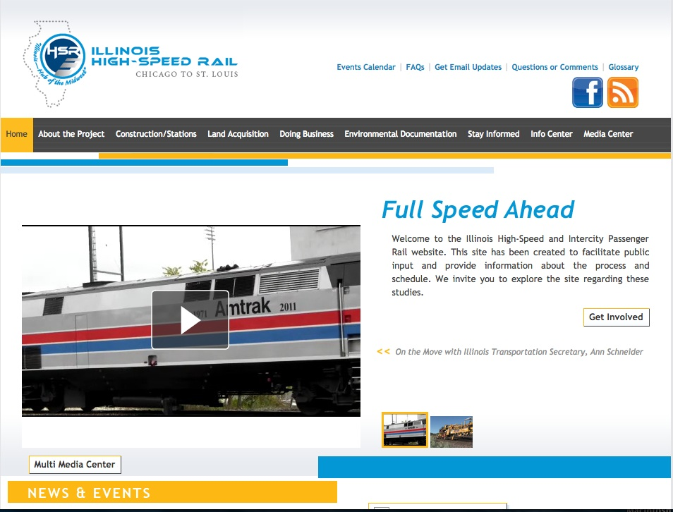 rail line website