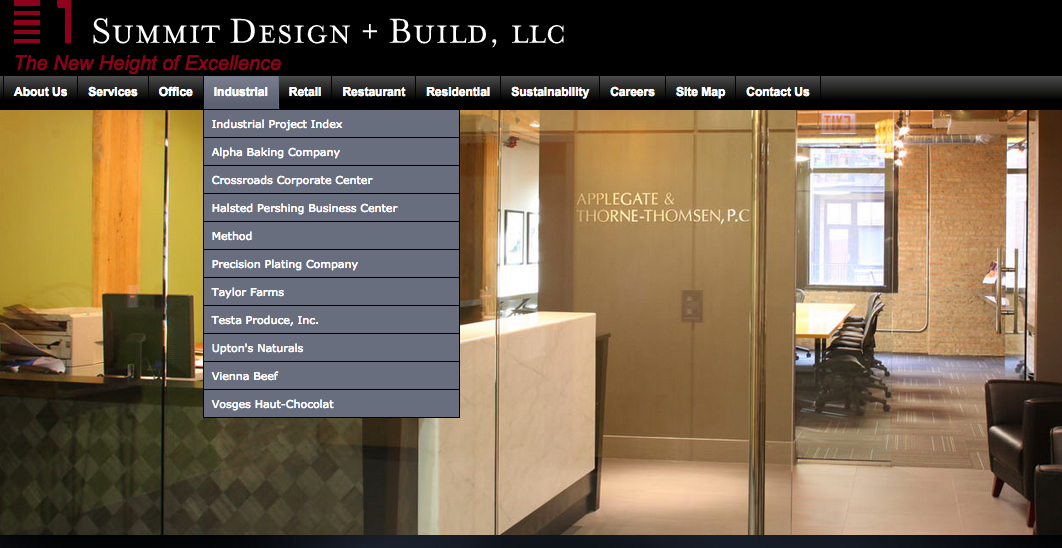 Summit design build looking for new office space for Office 606 design construction llc