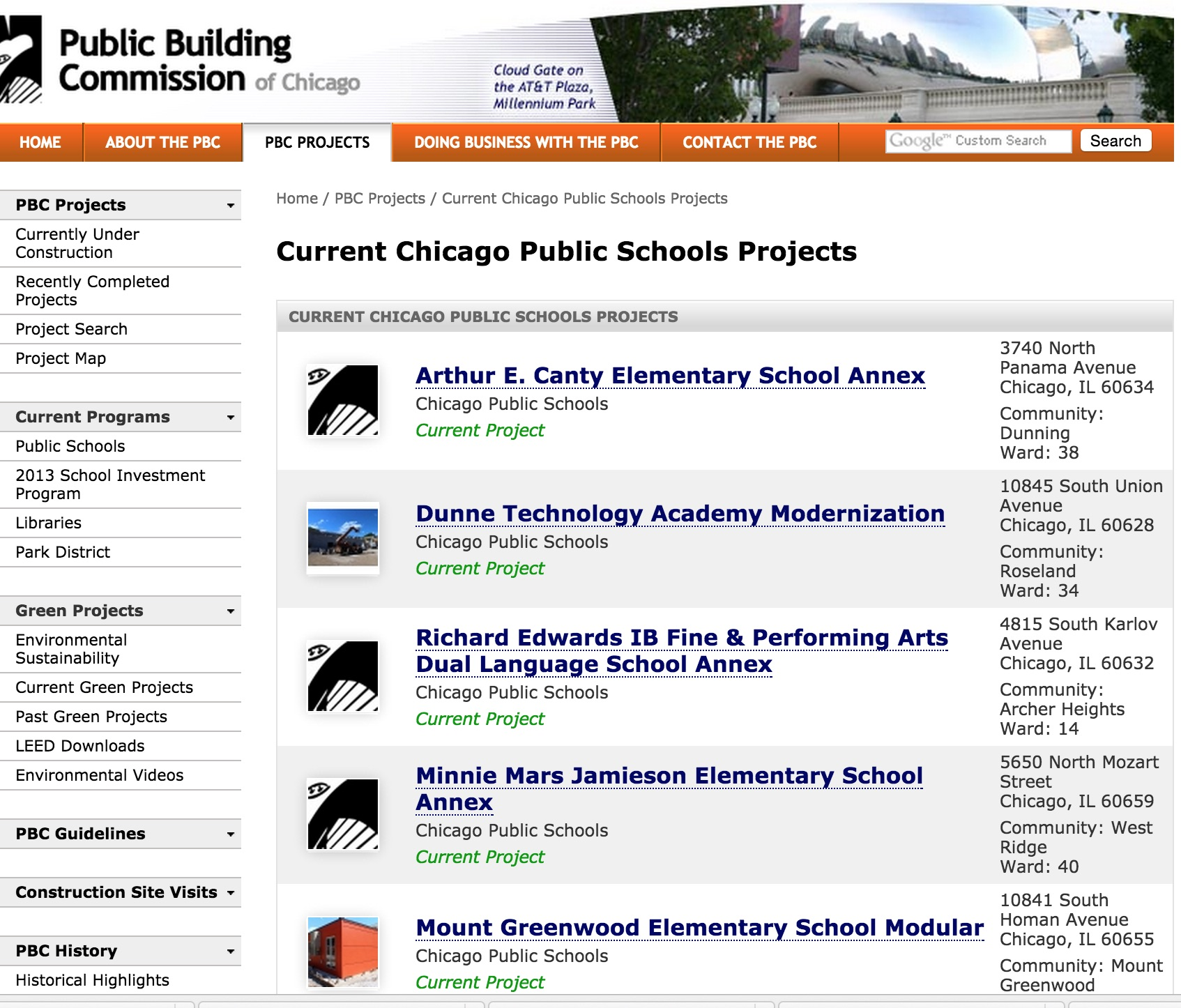 public schools construction chicago