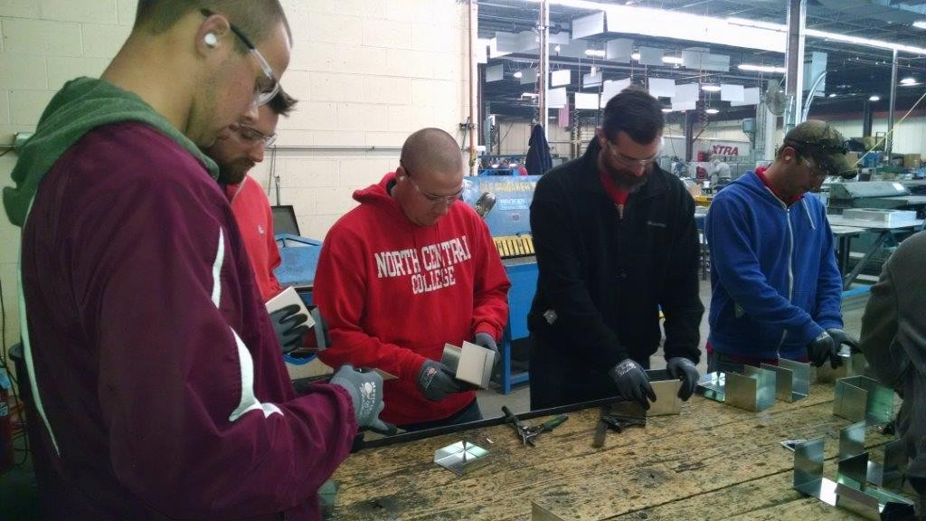 Lunch and Learn Construction Sheet Metal Shop Tour