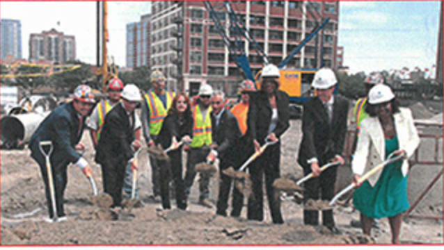 marriott Marquis groundbreaking