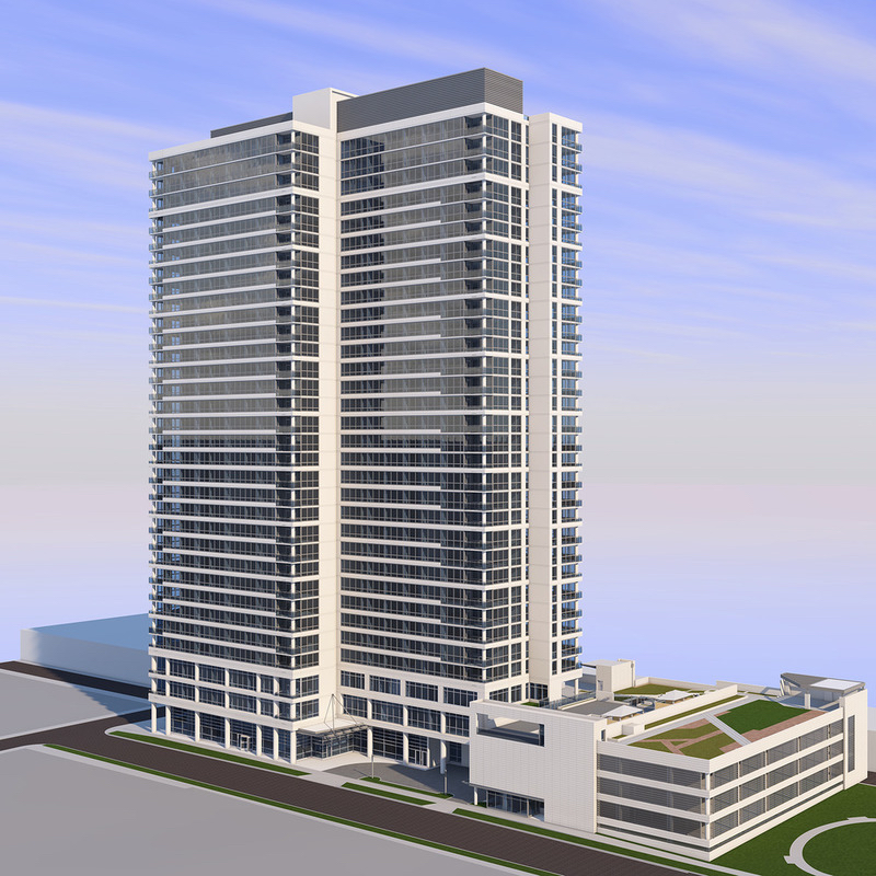 New Apartment Buildings Chicago: Chicago Issues $9.84 Million Foundation Building Permit