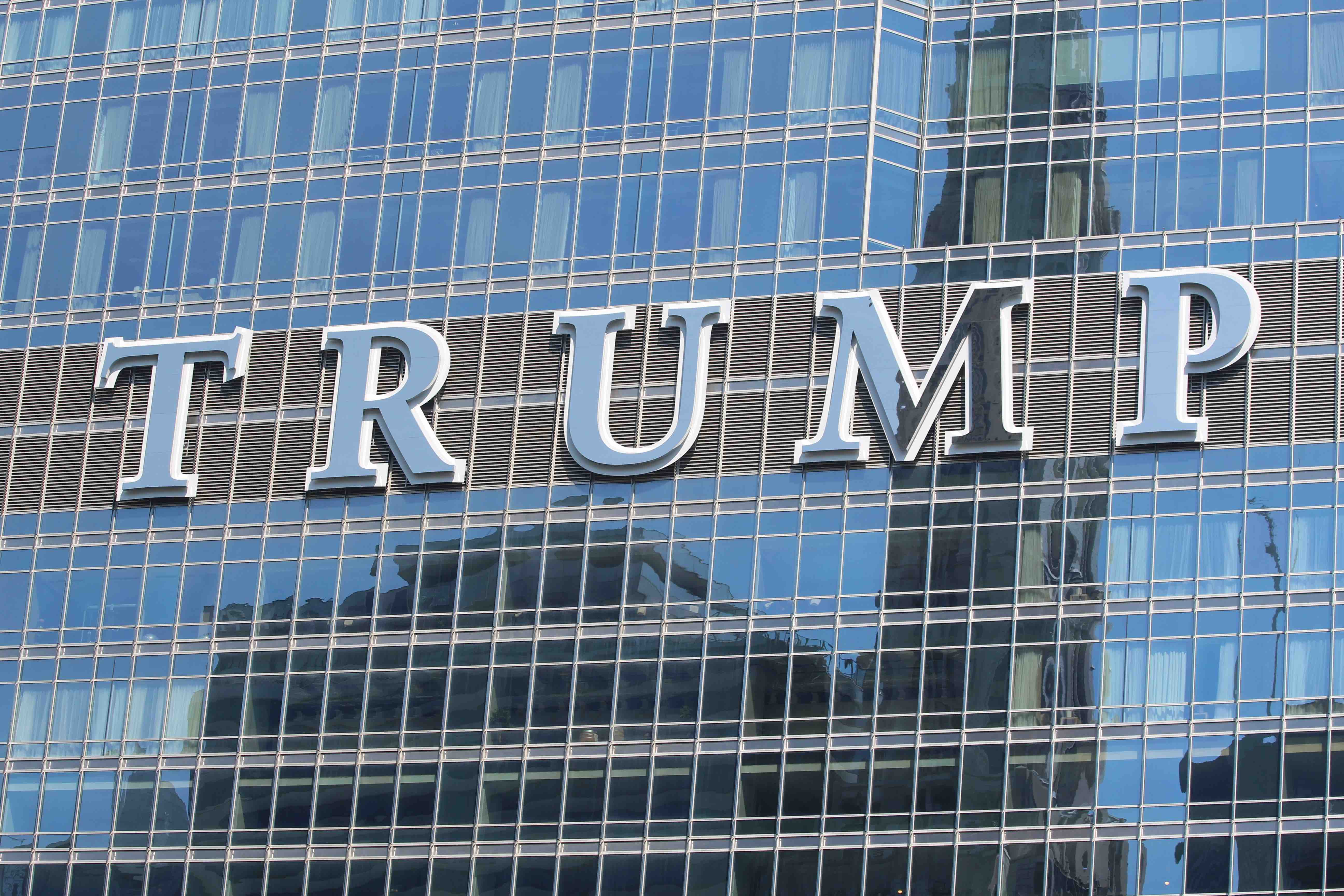 trump tower sign