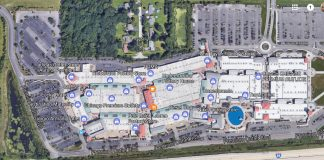 satellite view premium outlet