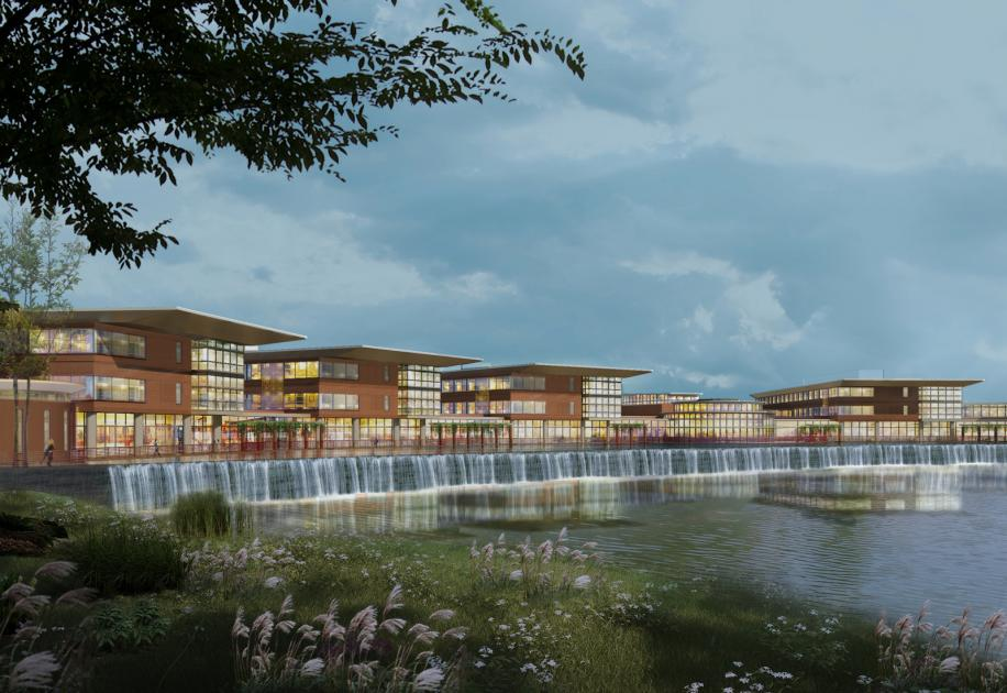 Northwestern lake forest hospital rendering