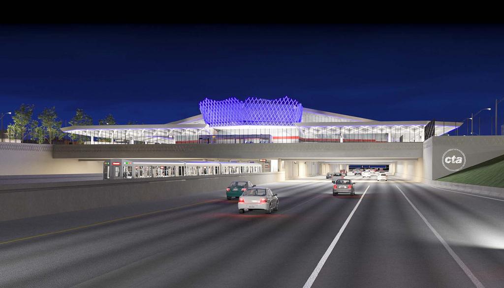 95th street terminal rendering