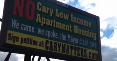 cary opposition