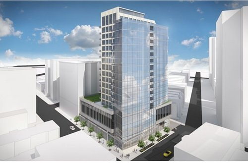 market place tower rendering chicago