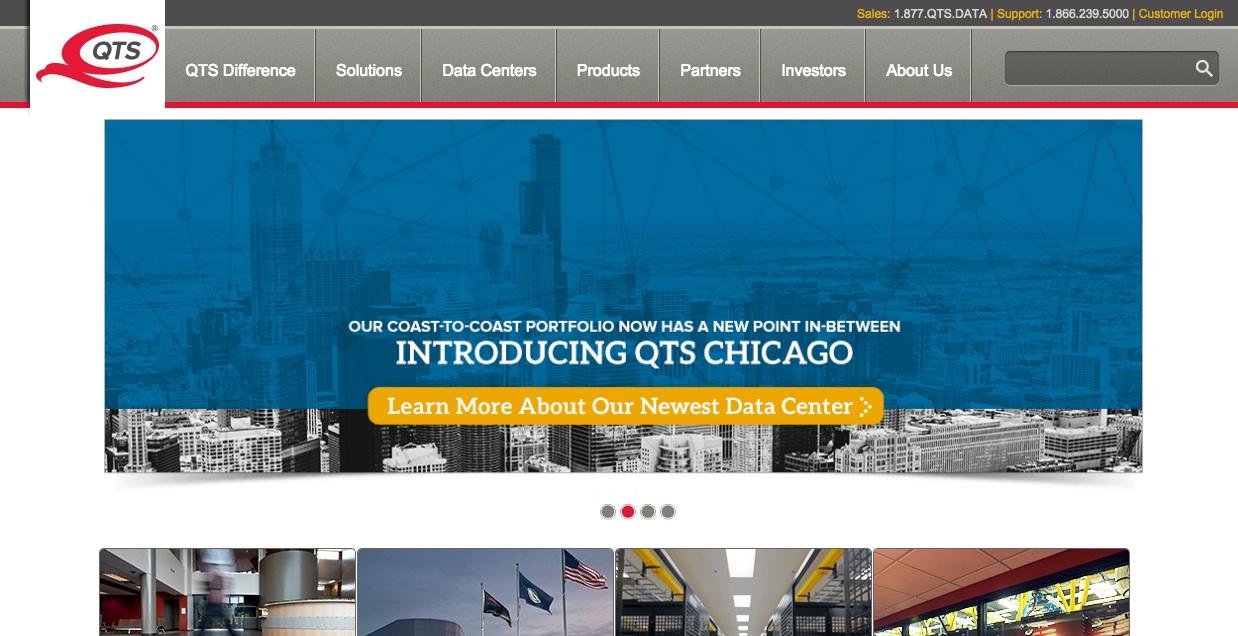 QTS website