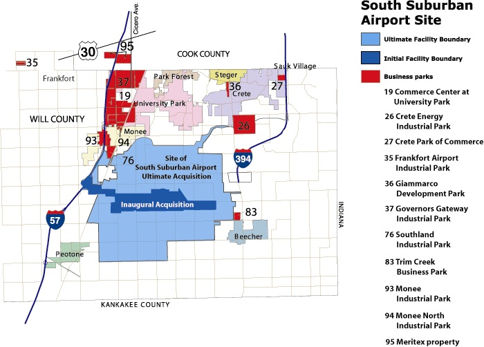 south suburban airport site