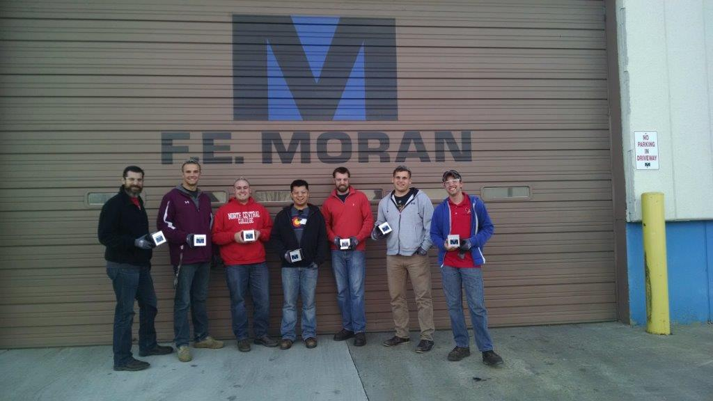 F E Moran Supports Mechanical Engineering Education With Lunch And