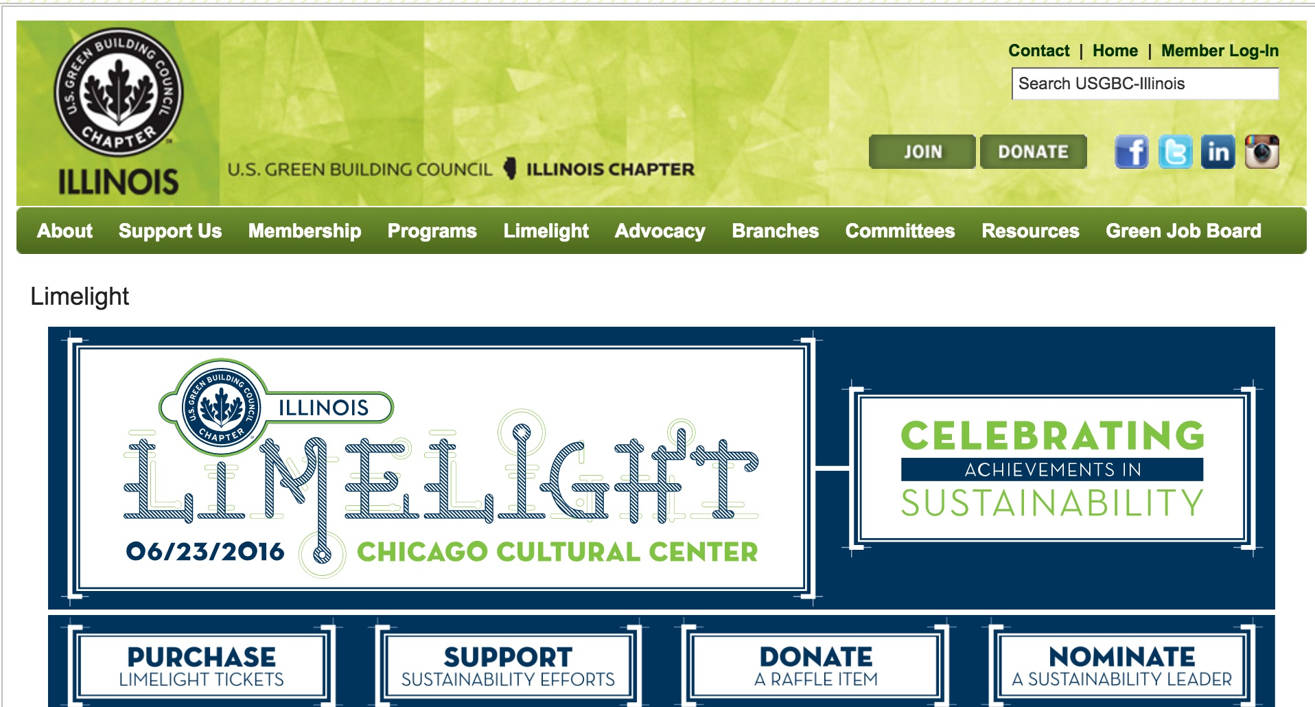 usgbc illinois limelight