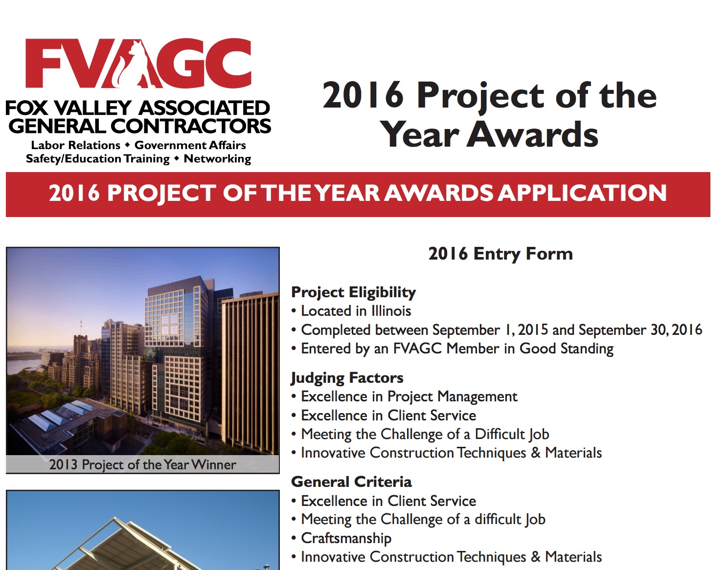 fvagc project of year