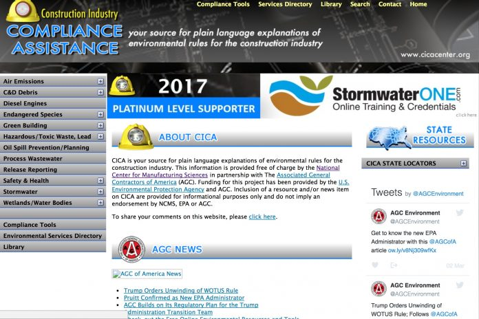 construction industry compliance center