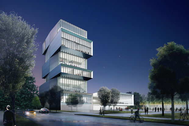 rubenstein center rendering
