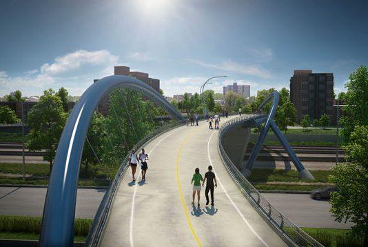 41 st pedestrian bridge