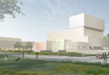 western Illinois state university performing arts center rendering