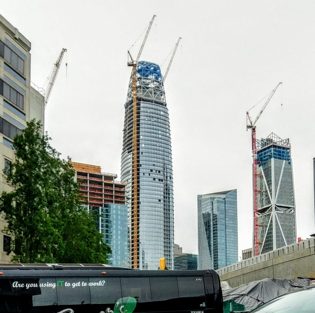 salesforce tower crane