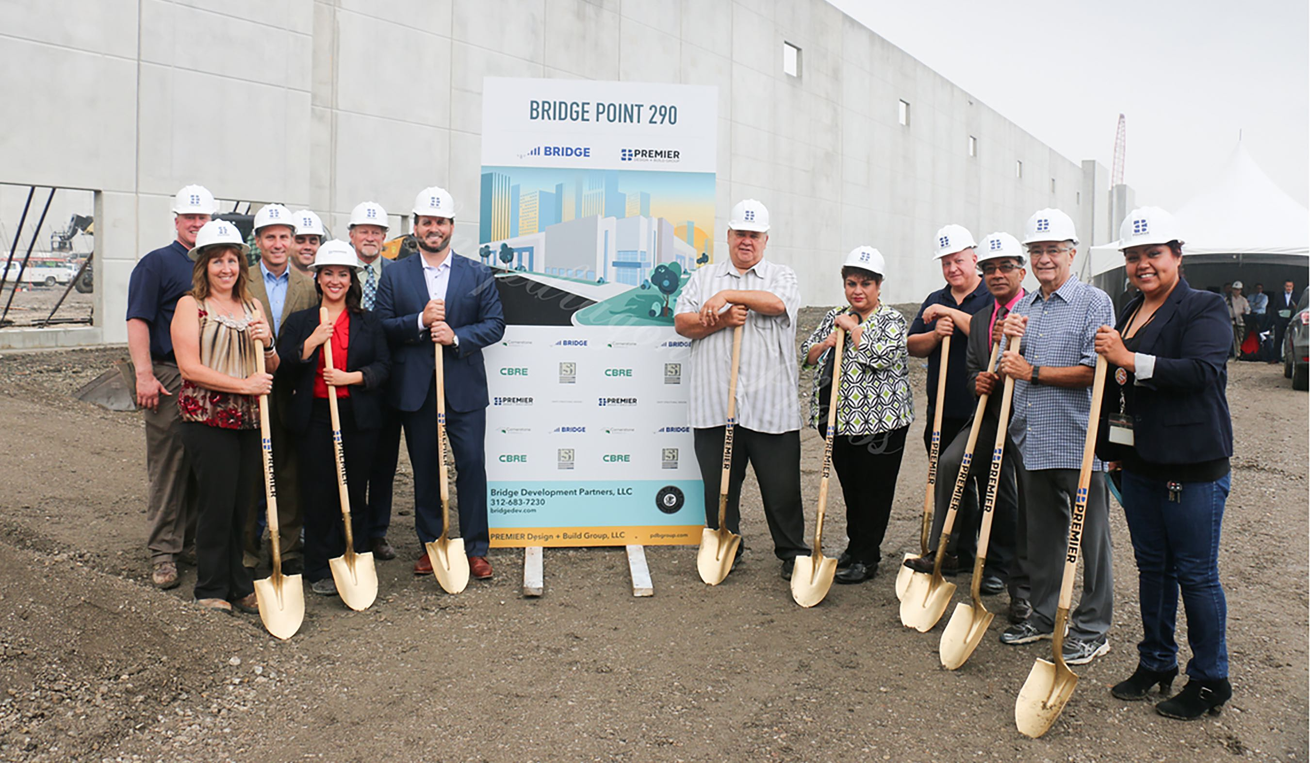 Premier Design Build Group Llc Celebrates Groundbreaking Of