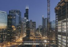 chicago construction skyline