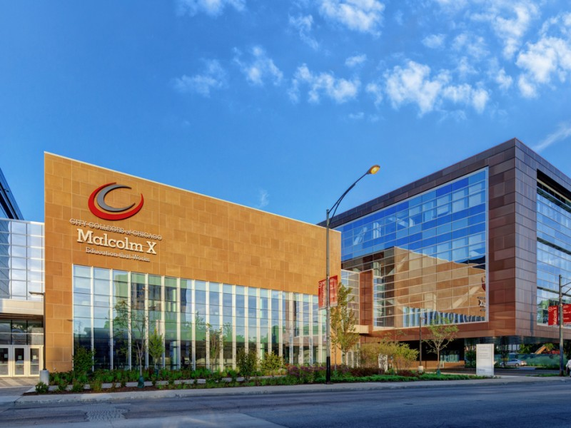 Malcolm X College Receives Leed Gold Certification Chicago