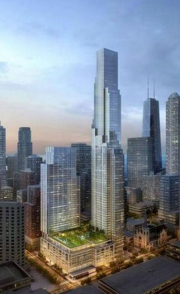 one chicago square rendering