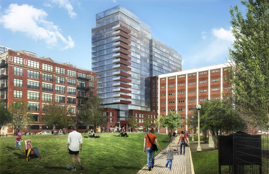 white oak and crayton advisors to build 19 story apartment complex in west loop chicago. Black Bedroom Furniture Sets. Home Design Ideas