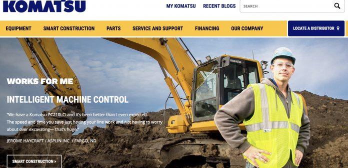 Komatsu america website