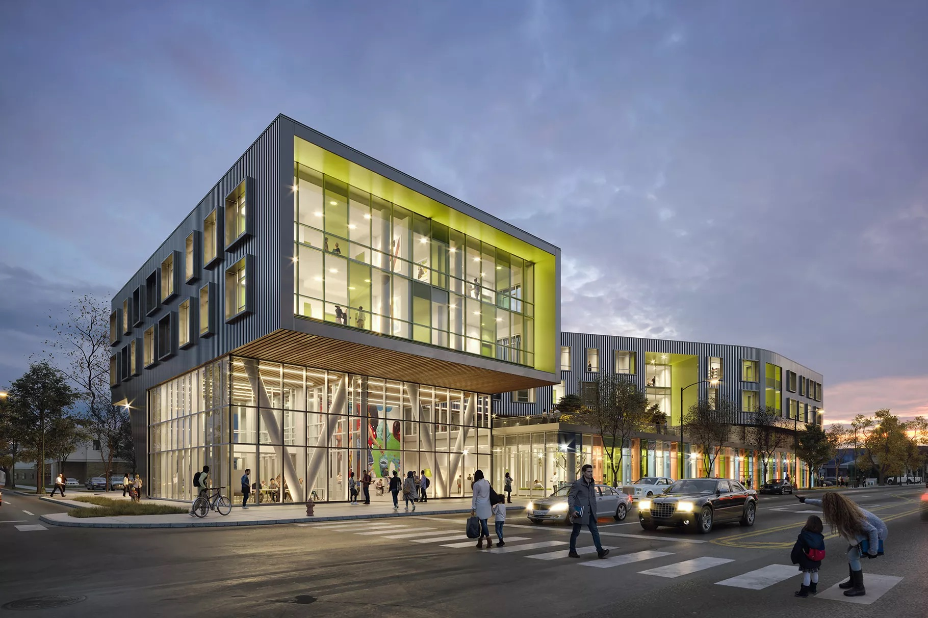 24 Million Permit Issued For New Northtown Library