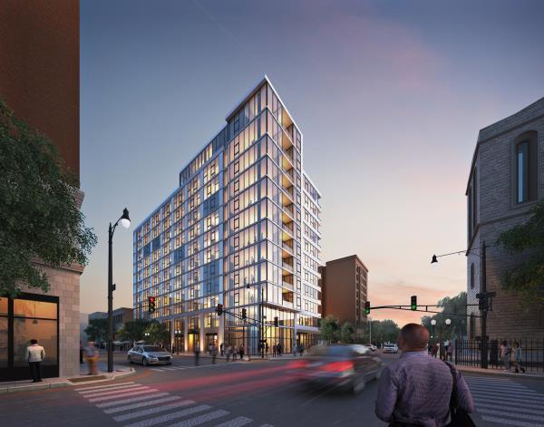 Crg Breaks Ground On 12 Y Apartment Building