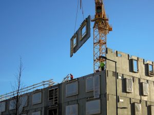 Inclement weather stalls construction projects