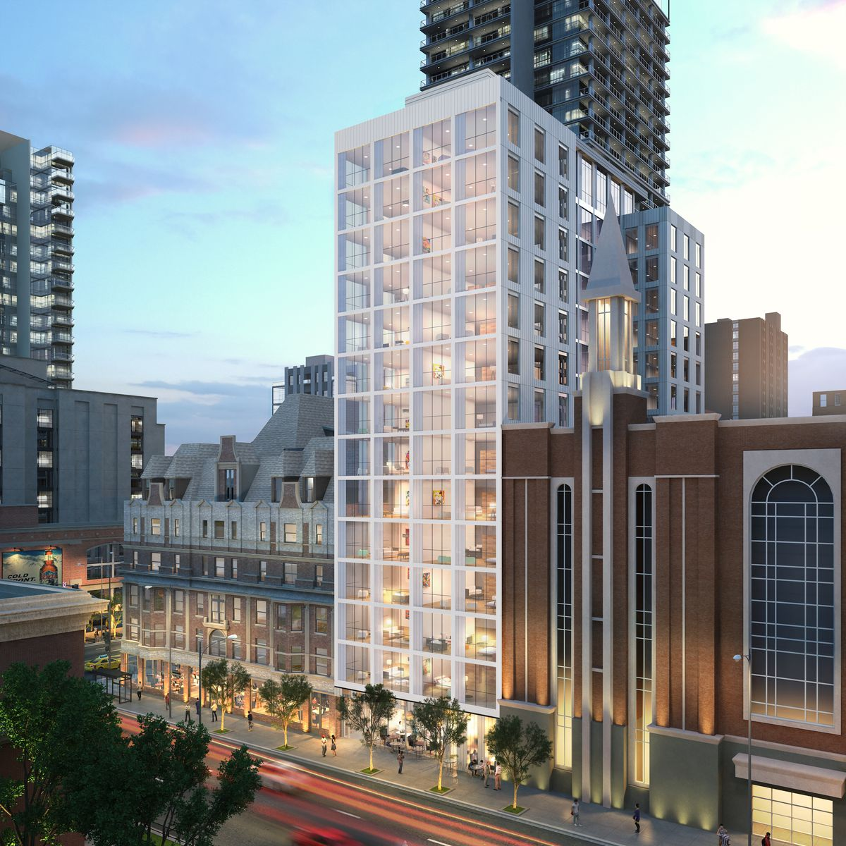 Cedar Street to build 16-storey tower next to Bush Temple | Chicago ...