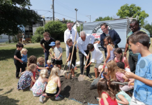 maplewood park groundbreaking