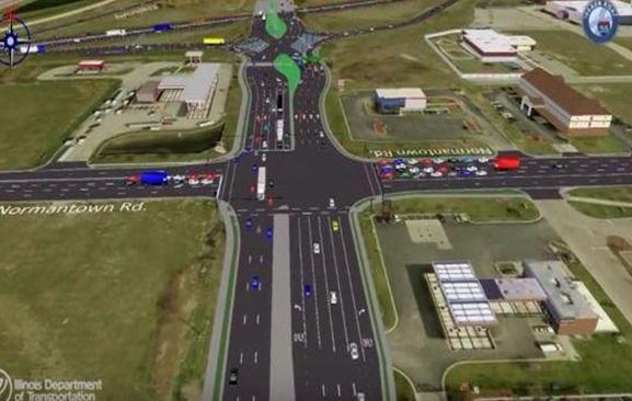 Construction begins on $68 million interchange project