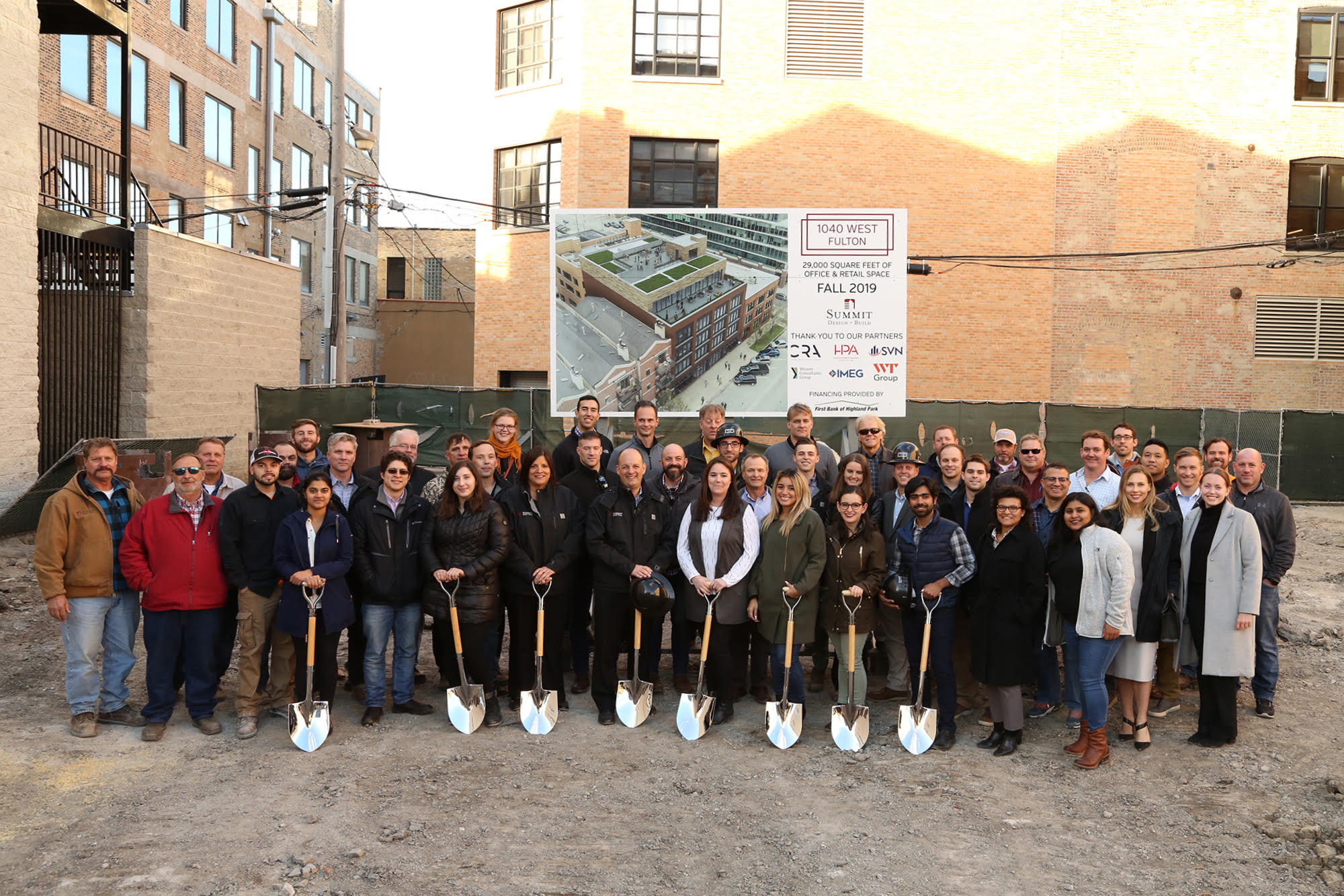 Groundbreaking Ceremony Marks Construction Start For New Office