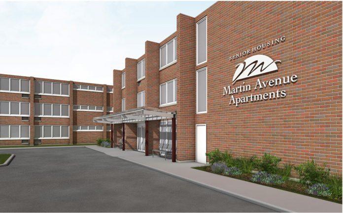 Martin Avenue Apartments – 122-unit affordable senior community in Naperville, Ill.