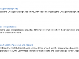 chicago building code