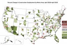 AGCA Employment Map