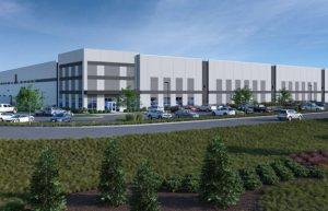 Ground broken for speculative warehouse distribution