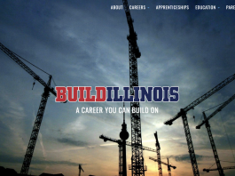 Build Illinois websie