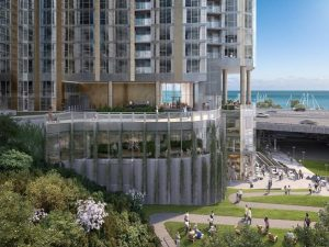 Lendlease, Magellan break ground on two towers in Lakeshore East
