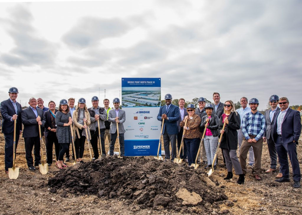 bridgepoint III groundbreaking