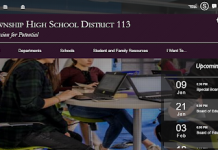 township school web page