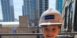 7-year-old Sawyer Morgenthaler