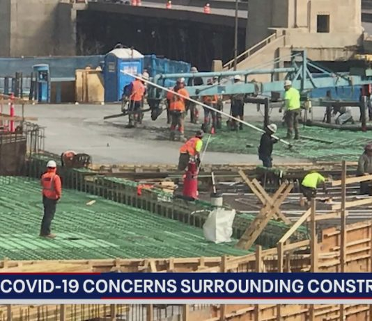 Fox 32 construction safety COVID-19
