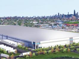 distribution center rendering