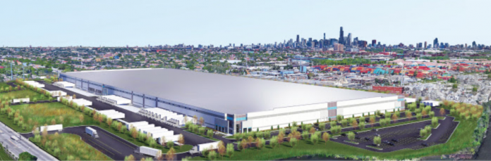 distribution center rendering