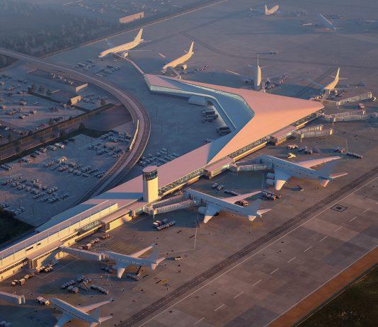 terminal 5 rendering