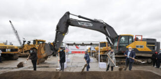 commerce park chicago groundbreaking