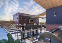 10 North Main Rooftop Amenity Space